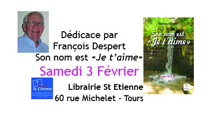 Dédicace de François Despert