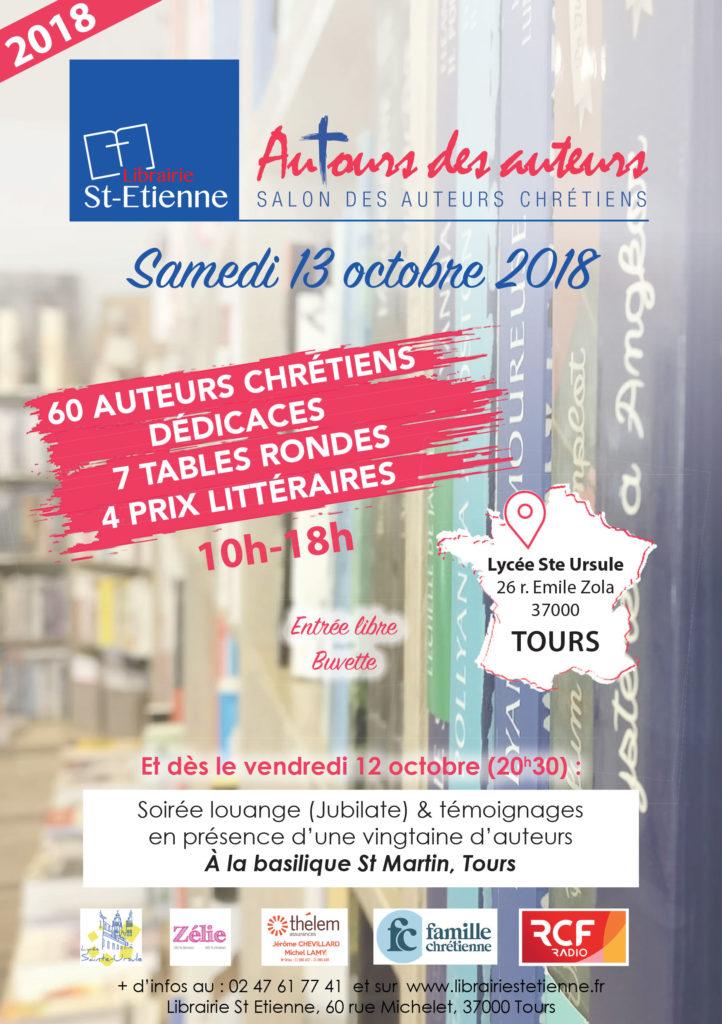 Salon AuTours des auteurs 2018 du 13 octobre