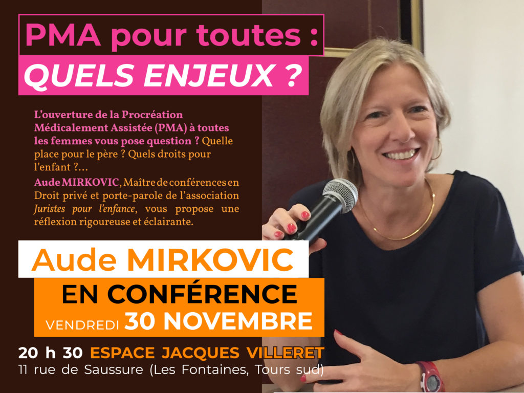 Conférence Aude Mirkovic