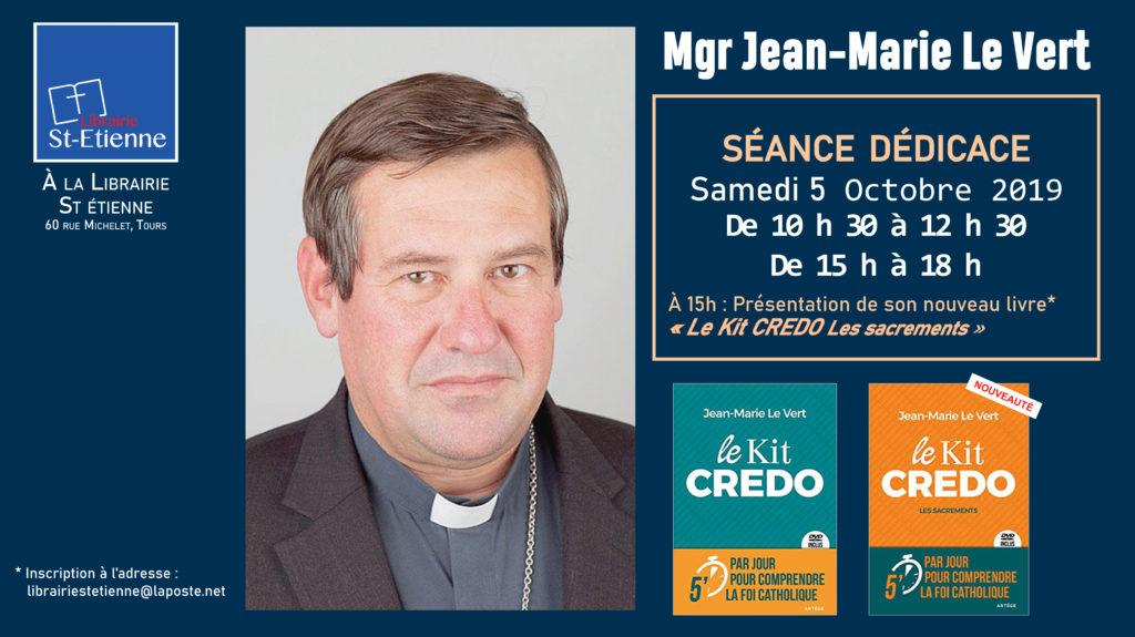 Jean-Marie-Le Vert Dédicace